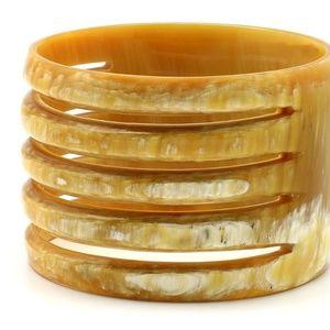 Jewelry - Beautiful Buffalo Bone Bangle Bracelet ;o)